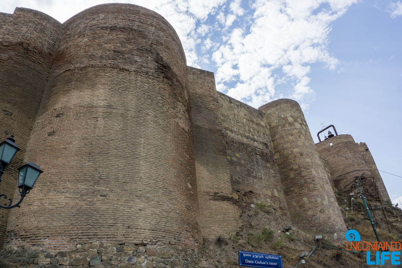 Narikala Fortress, Tbilisi, Georgia, Uncontained Life