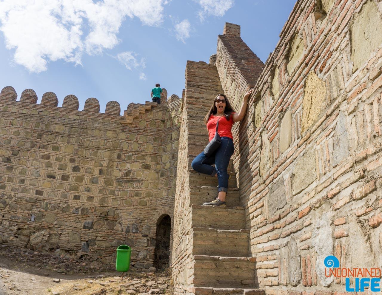 Narikala Fortress, Tbilisi, Georgia, Uncontained Life