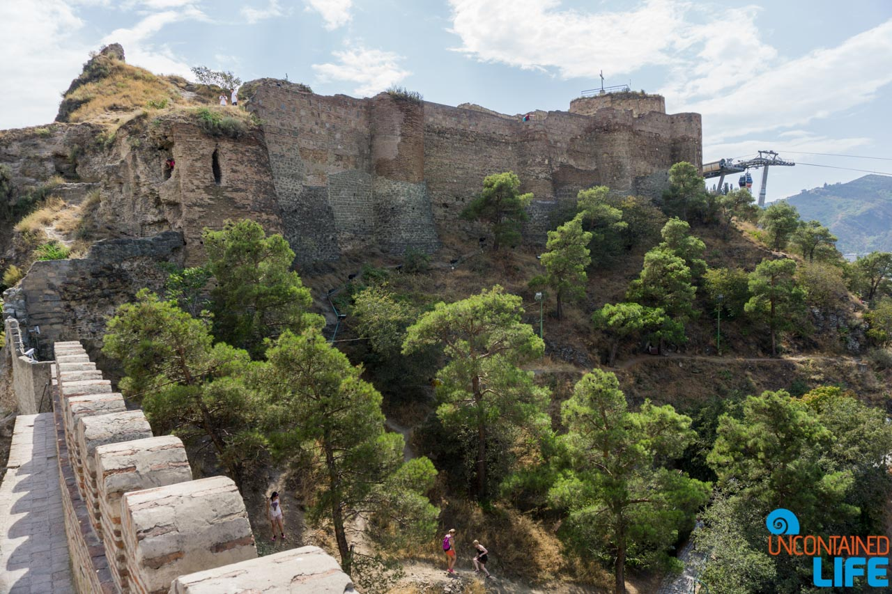 Ruins, Narikala Fortress, Tbilisi, Georgia, Uncontained Life