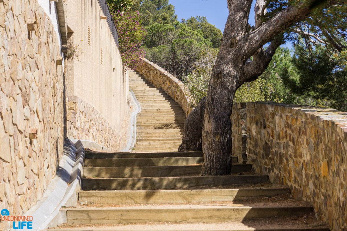 Stone Steps, Hiking in Costa Brava, Spain, Uncontained Life
