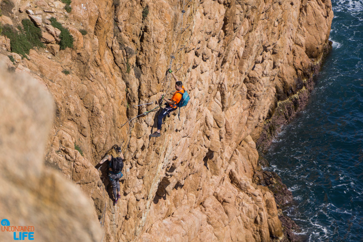 Rock Climbing, Hiking in Costa Brava, Spain, Uncontained Life